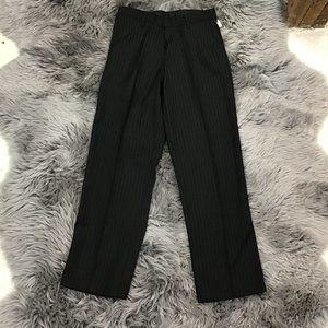Dockers   Boy's Dress Pant   Black   20 Husky